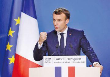 Macron dialoga con los sindicatos para frenar huelga