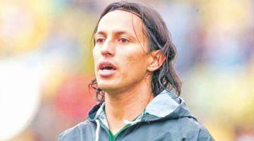 Un boliviano       en la despedida de Diego Forlán