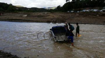 Una mujer fallece tras ser arrastrada por el río en Yotala