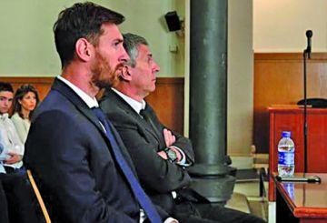 Suspenden juicio de Lionel Messi  en Barcelona