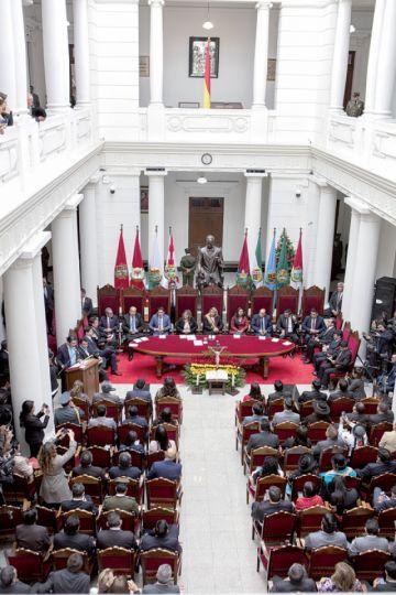 Año Judicial: Coinciden en  recuperar la independencia