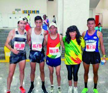 Garibay, el mejor atleta boliviano  en la San Silvestre