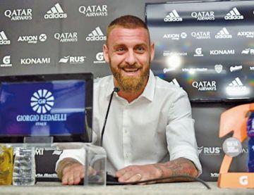 Daniele De Rossi deja Boca y se retira del fútbol