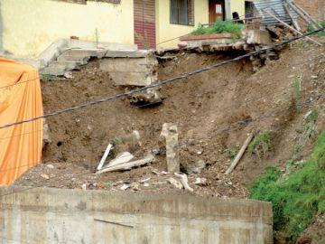 Lluvias vuelven a alarmar a vecinos de Tintamayu