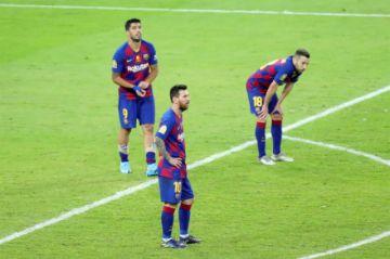 El Barcelona, eliminado de la Supercopa de España