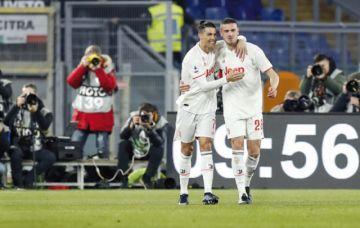 Juventus triunfa en Roma  y es campeón de invierno