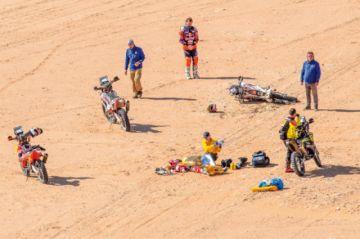 Muerte en el Dakar