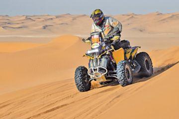 Martínez acaba la etapa 9 en el Dakar Experience