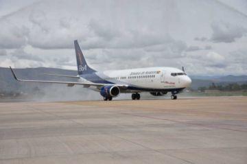 BoA incluye en su flota un avión Boeing de nueva generación