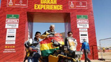 El boliviano Leonardo Martínez culmina el Rally Dakar