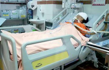 Fallece Aida, la madre  a la que le cayó una viga