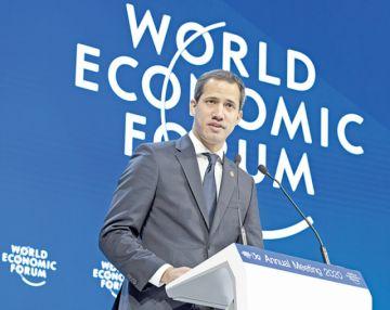 Venezuela retorna al Foro de Davos con Juan Guaidó