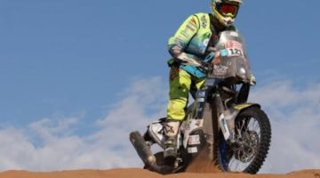 Fallece Straver, motociclista accidentado en Rally Dakar