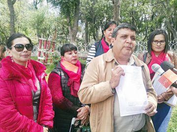 Caso reelección: Piden detención para extribunos
