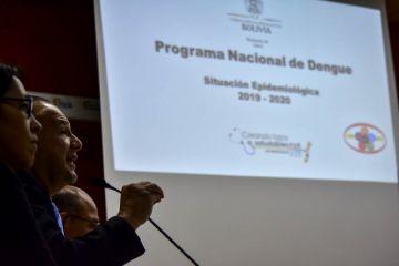 Gobierno prioriza alerta sanitaria por la epidemia del dengue en Santa Cruz