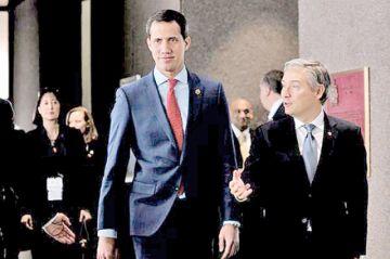 """Guaidó promete en Miami """"echar"""" a Nicolás Maduro"""