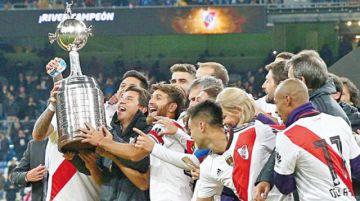 TAS: River es el campeón