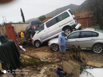Decenas de familias afectadas e incalculable daño económico por riada en Cotagaita