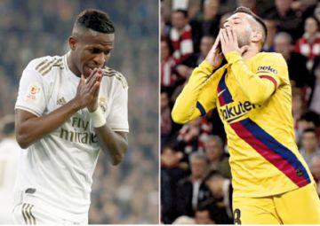 Real y Barcelona, eliminados