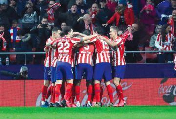 Atlético recupera la senda