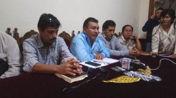 Choferes exigen reunión con autoridades para resolver varios conflictos