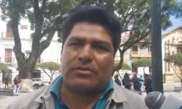 Exdirigente campesino advierte que no permitirán campaña de partidos contrarios al MAS