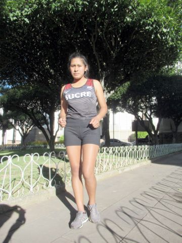 Sueña con representar a Bolivia en unos Juegos Olímpicos