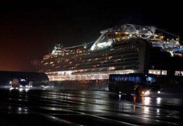 EEUU evacua a sus ciudadanos del crucero en cuarentena en Japón
