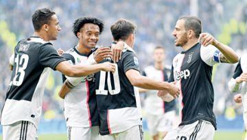 Juventus sigue líder, Lazio  e Inter son sus perseguidores