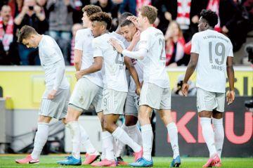 El Bayern Múnich estira su ventaja en Alemania