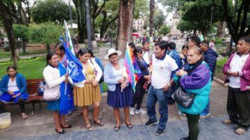 Dirigentes del Chapare llegan a reforzar al MAS