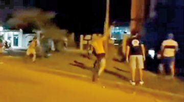 Bermejo: Manifestantes contra la Policía