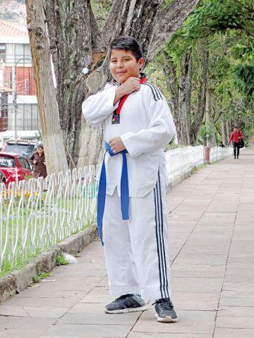 El taekwondista que no conoce la derrota