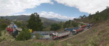 Bloqueo del Transporte Pesado de Chuquisaca comienza en La Zapatera