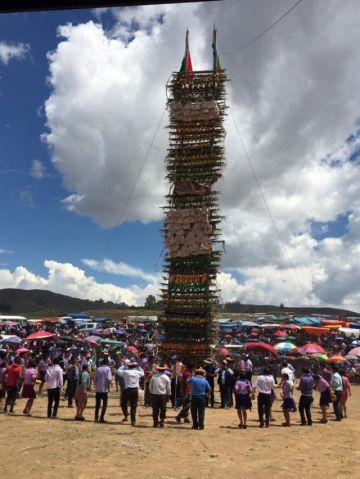 Espectacular Pucara de Yamparáez en la fiesta por San Pablo de la Misión