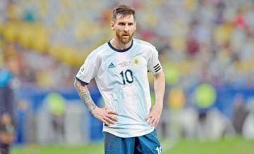 Messi lidera lista de Argentina para las eliminatorias