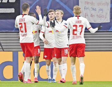 Leipzig y Atalanta  se clasifican a cuartos con sendas victorias