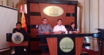 EN VIVO: Conferencia de prensa del Sedes Chuquisaca sobre coronavirus