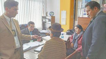 Fraude electoral: Choque y Laruta enfrentan careo