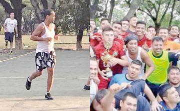 Ronaldinho debuta en la cárcel