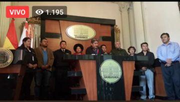 Gobernación declara alerta roja en Chuquisaca por coronavirus y prohíbe viajes desde mañana