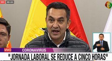 Gobierno anuncia sanciones para quienes vulneren restricciones en el país contra el coronavirus