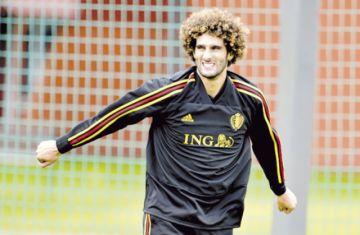 Belga Fellaini, primer futbolista positivo en China