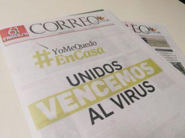 Correo del Sur suspende su edición impresa y refuerza su versión digital