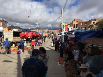 En vivo: El panorama del mercado El Morro