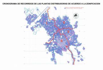 Conozca el cronograma y zonificación para la distribución de gas