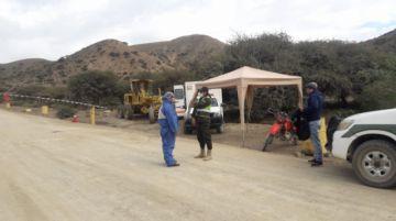 Pasajeros burlan control de bioseguridad en municipios cinteños