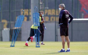 Barcelona cumple segundo entrenamiento tras el confinamiento