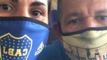 Futbolistas de Boca y de River donan camisetas para fabricar barbijos