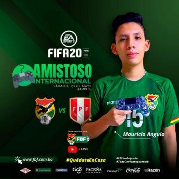 Bolivia se enfrentará a Perú en un amistoso virtual este sábado